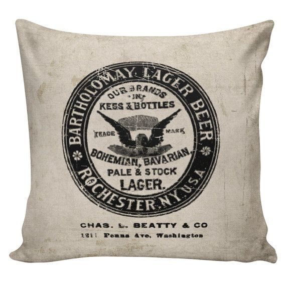 Man Cave Pillow With Cup Holder : Images about drink to this bar decor on pinterest