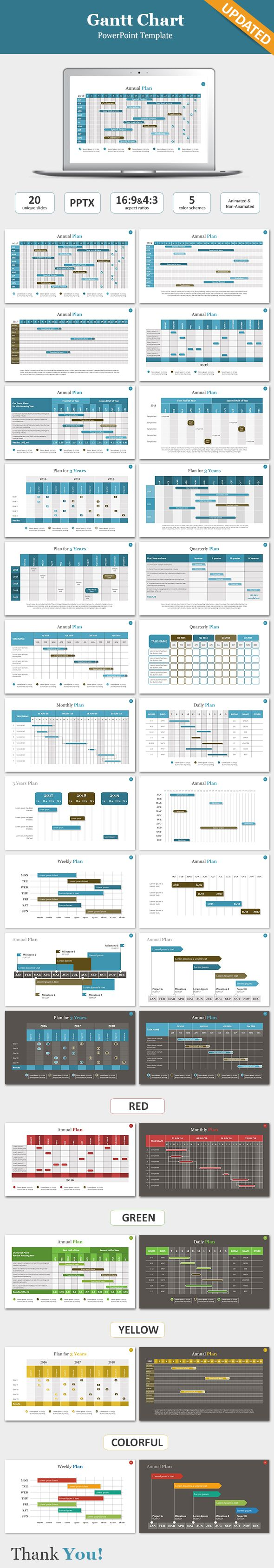 14 best gantt chart images on pinterest gantt chart project gantt chart powerpoint template powerpoint templates presentation templates nvjuhfo Choice Image
