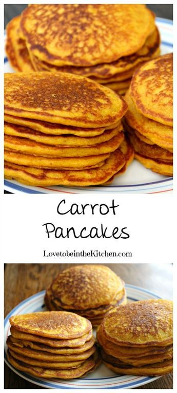 Carrot Pancake- Healthy and yummy!