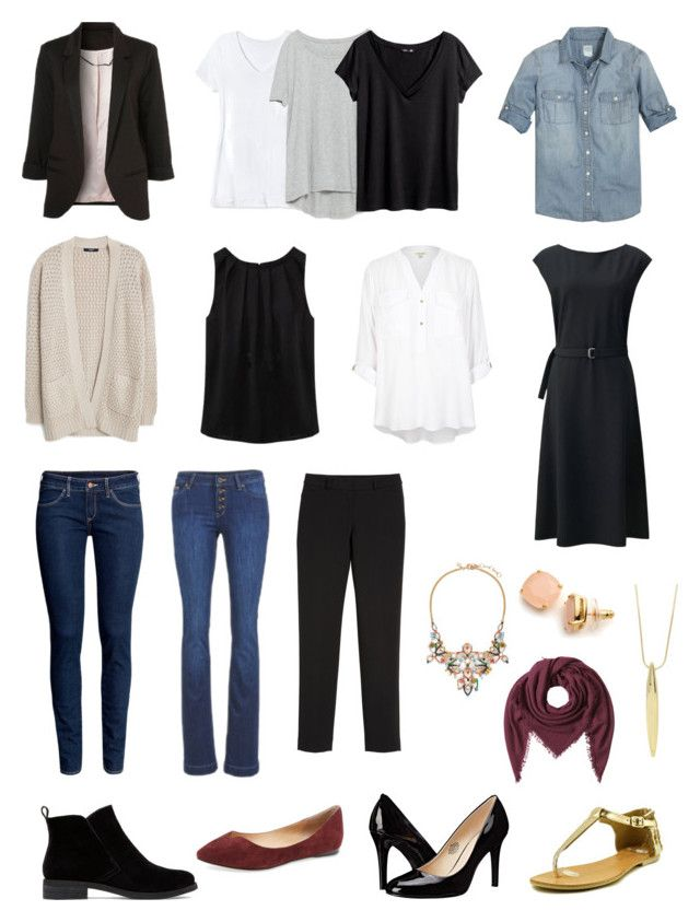 Mix and Match Basics by littlenostalgia on Polyvore featuring Uniqlo, River Island, MANGO, J.Crew, WithChic, H&M, Zara, Mossimo, White House Black Market and ESPRIT