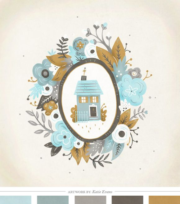 Color Inspiration Daily: 07. 19.12 - Home - Creature Comforts - daily inspiration, style, diy projects + freebies
