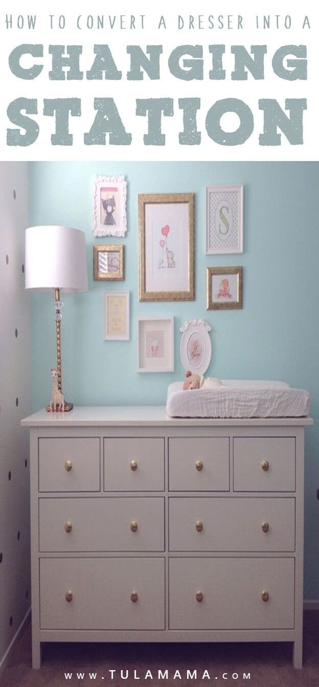 Convert Dresser To Baby Changing Table