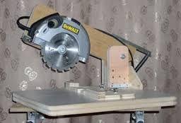 Resultado de imagem para serra de bancada caseira