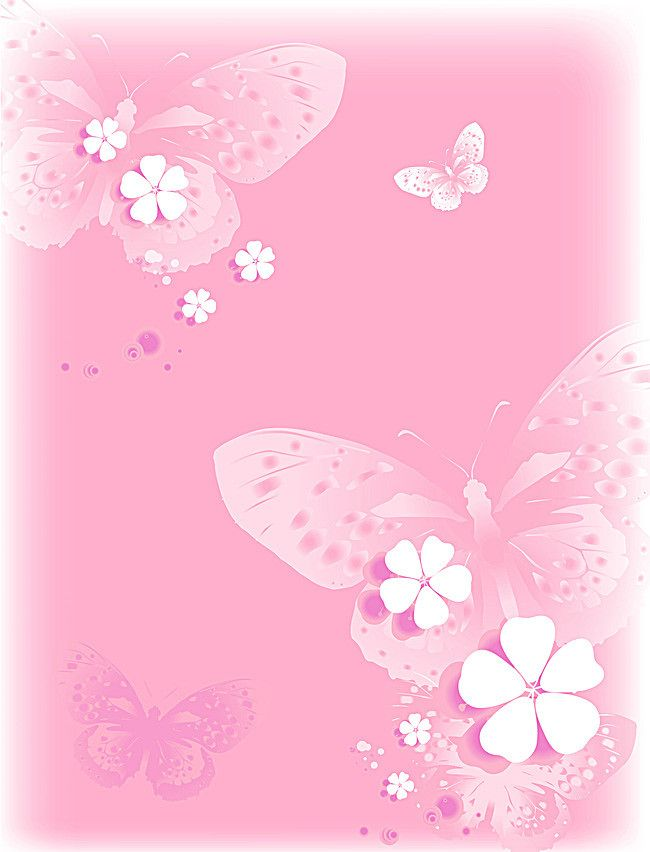 Romantic Pink Background White Butterfly Butterfly Background Butterfly Wallpaper Backgrounds Pink Wallpaper Backgrounds