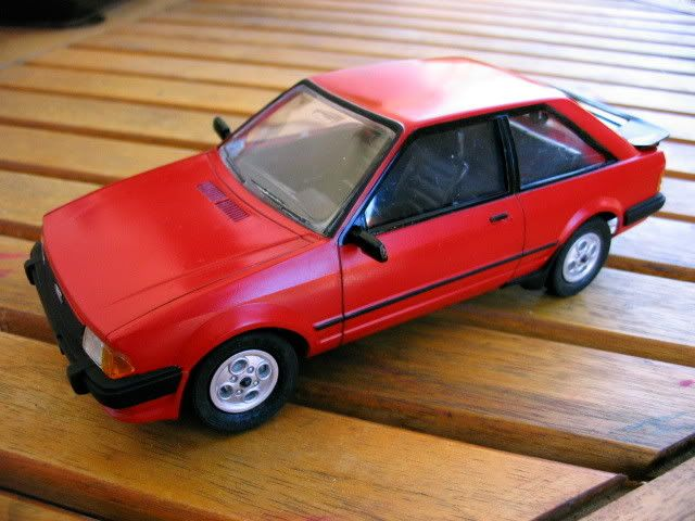 Ford escort XR3 AMT - Scale Auto Magazine - For building plastic & resin scale model cars, trucks, motorcycles, & dioramas