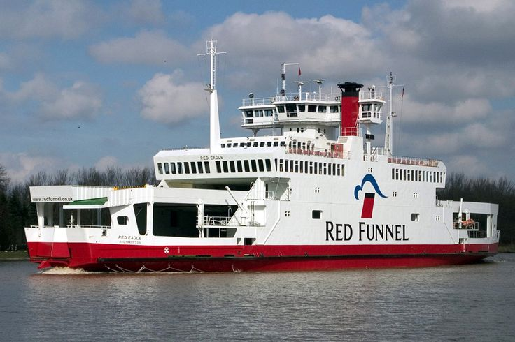 Southampton to East Cowes ferry, the Red Eagle