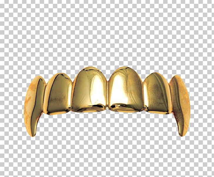 Gold Grill Jewellery Tooth Fang Png Angle Brass Canine Tooth Creative Dental Braces Canine Tooth Gold Teeth