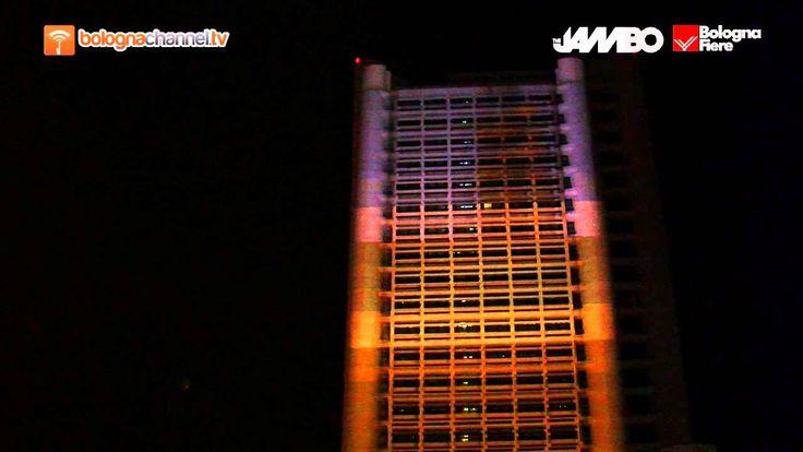 Anteprima illuminazione Torri Kenzo #BolognaFiere per #TheJambo