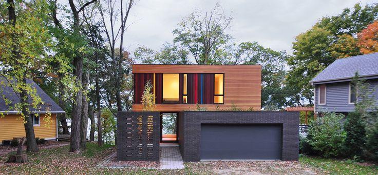 Casa Redaction |  Arquitetos: Johnsen Schmaling Architects |  Localização: Oconomowoc, WI 53066, EUA
