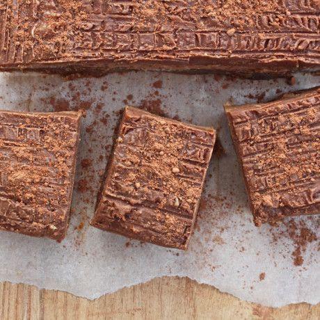 Caramel Chocolate Slices