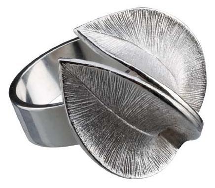 Kalevala Jewelry - Lumikukka - sormus / Snow Flower Ring - silver - Desing: Marja Suna