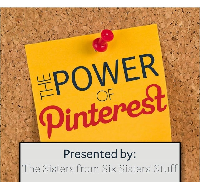Power of Pinterest from Six Sisters Stuff #buildyourblogconference #pinterest #blogging #sixsistersstuff