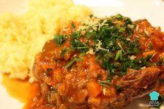Receta de Ossobuco a la milanesa #RecetasGratis #RecetasFáciles #RecetasdeCocina #Carne #MeatLovers #Ternera #Osobuco #Ossobuco