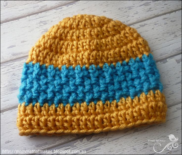 Mamma That Makes: Elliot Beanie - Free Crochet Pattern