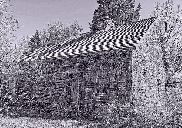 An old home in MacPherson's Mills, Pictou Co. NS Canada