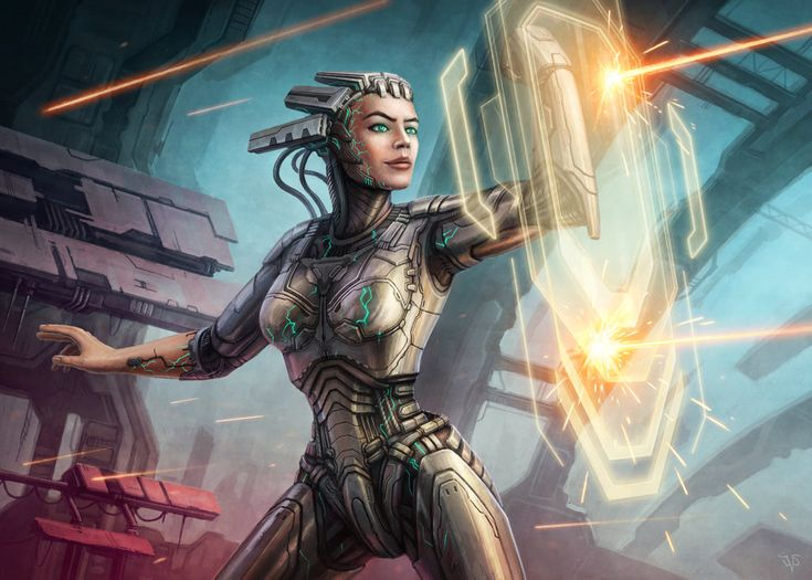 25 Best Images About Cybernetic Android Concepts On