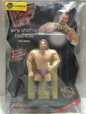 (TAS000518) - WCW WWF WWE JusToys Wrestling Bend-EMS Val Venis Series XI