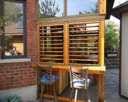 Outdoor Bar Enclosure
