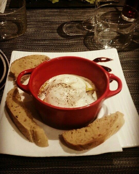 Oeuf cocotte au foie gras ! Pour les gourmand (e)s :)