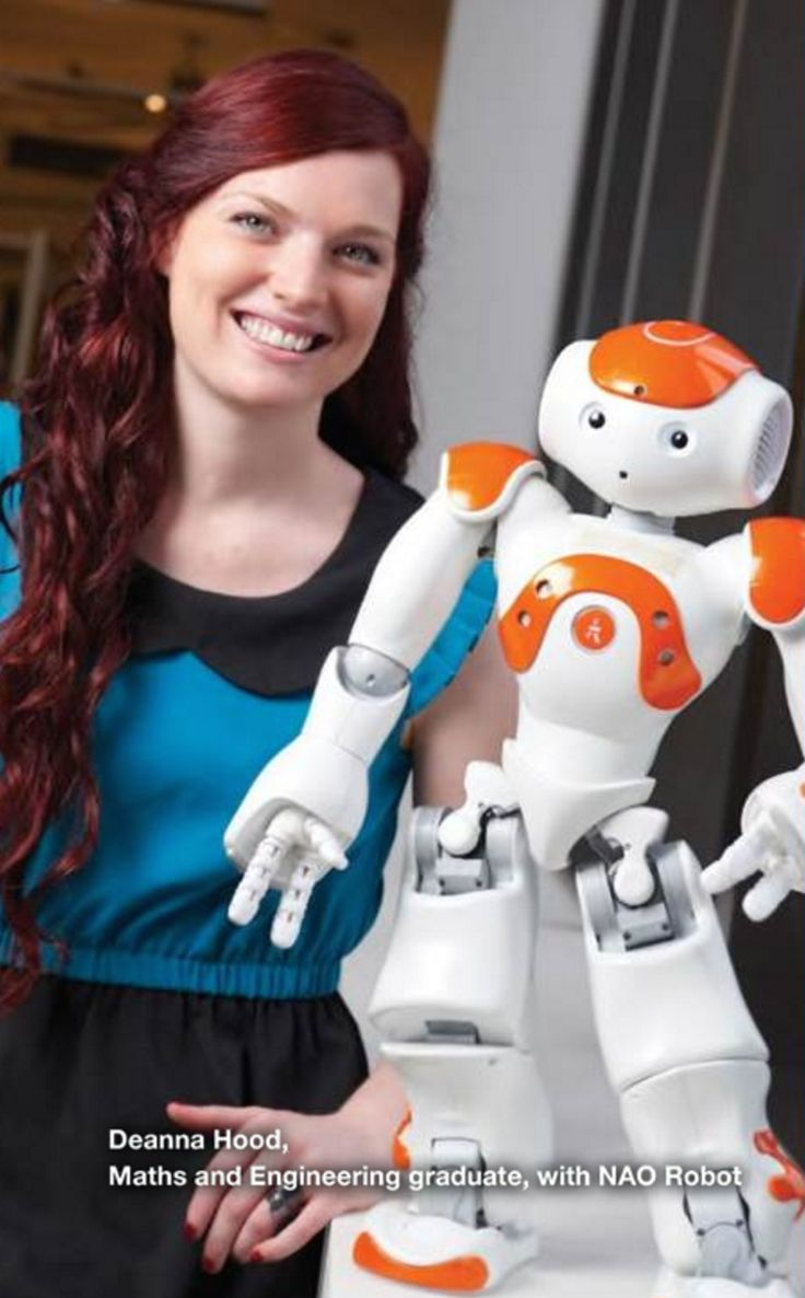 SMART-WIRED: COULD A SMALL humanoid robot somehow help students improve their handwriting? According to engineer Deanna Hood, the