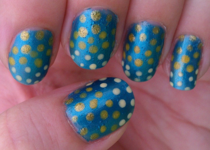 169 best Dots & Bow!!! images on Pinterest | Nail ...