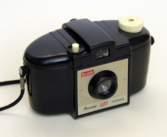 Kodak Brownie 127. Way before digital!