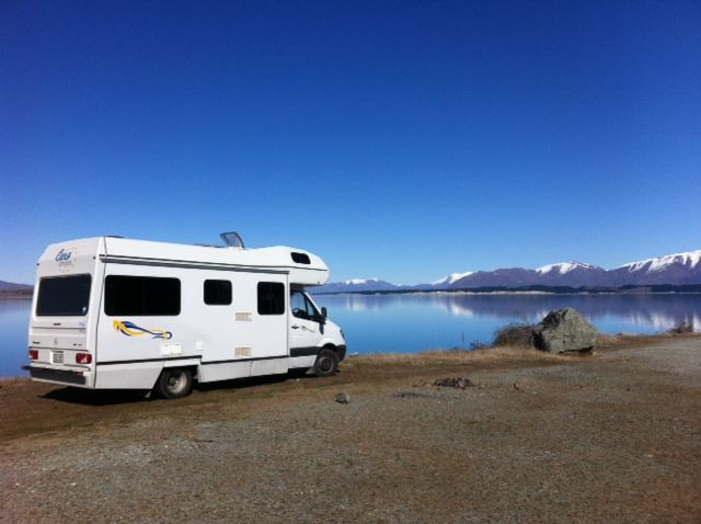 Fun times around Lake Pukaki. Our team went on a weekend trip to see Lake Pukaki, Tekapo and Ohupa. After recent snow in the area the South Island is now warming up nicely. Amazing scenery and best visited in a Camper to travel independently.