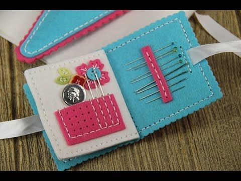 Needle Book Stitching Dies Tutorial - YouTube