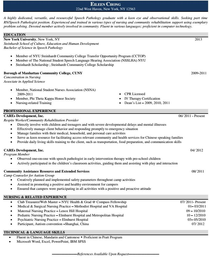 Best Rn Resume Images On   Resume Tips Resume Help