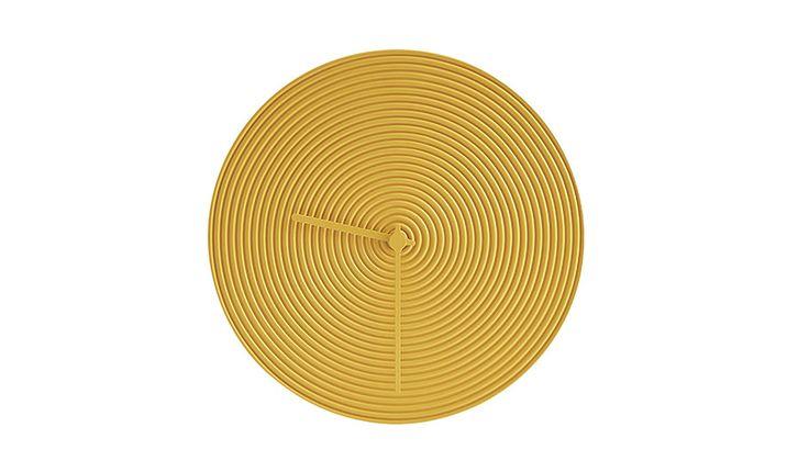 Atipico | Ring Wall Clock - Yellow