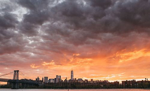 NYC Sunset by Jonathan Percy