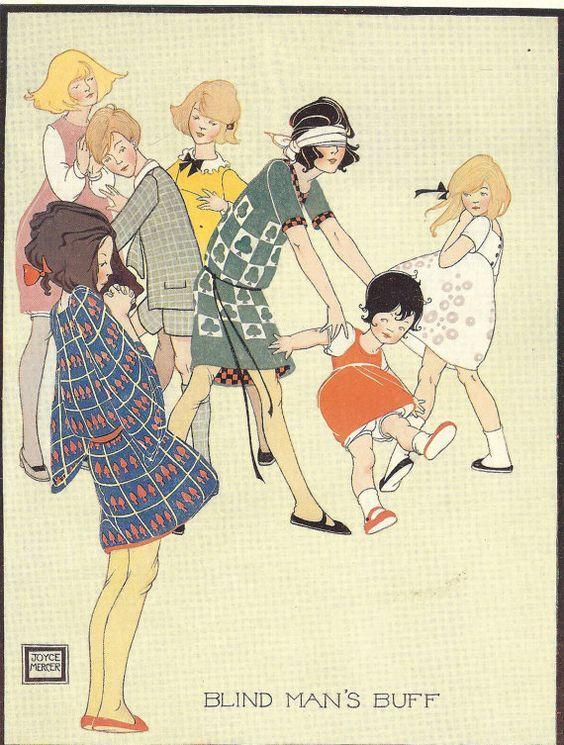 Illustratrice inglese, Joyce Mercer ( 1896-1965), ha portato lo stile Art Deco nelle illustrazioni per bambini.  Ha illustrato un'edizione d...