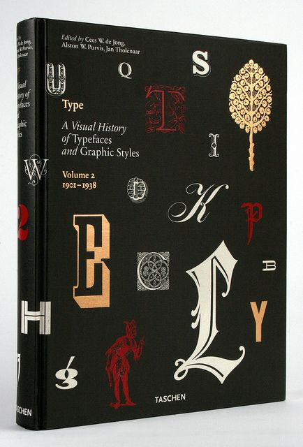 Visual History of Typefaces and Graphic Styles Vol. 2 1901-1938, Taschen