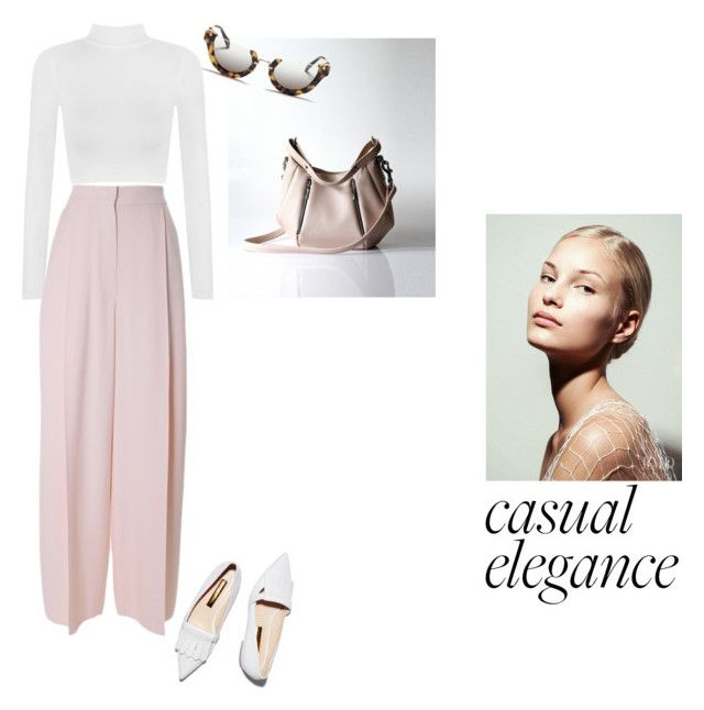 """""""casual elegance"""" by opelle-creative on Polyvore featuring WearAll, Rupert Sanderson, Sportmax, Miu Miu and opellebags"""