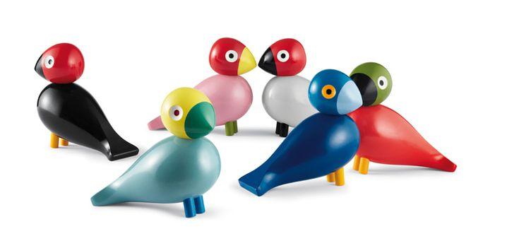 In love with : Les oiseaux perroquets de Kay Bojesen - FrenchyFancy