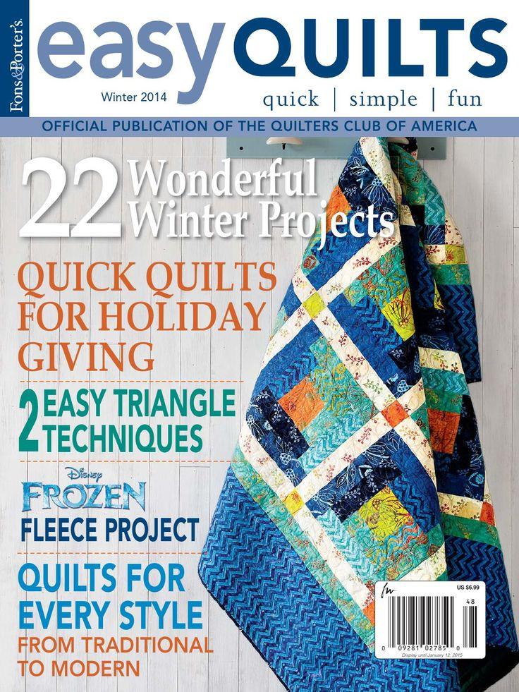 Easy Quilts Winter 2014 Digital Issue