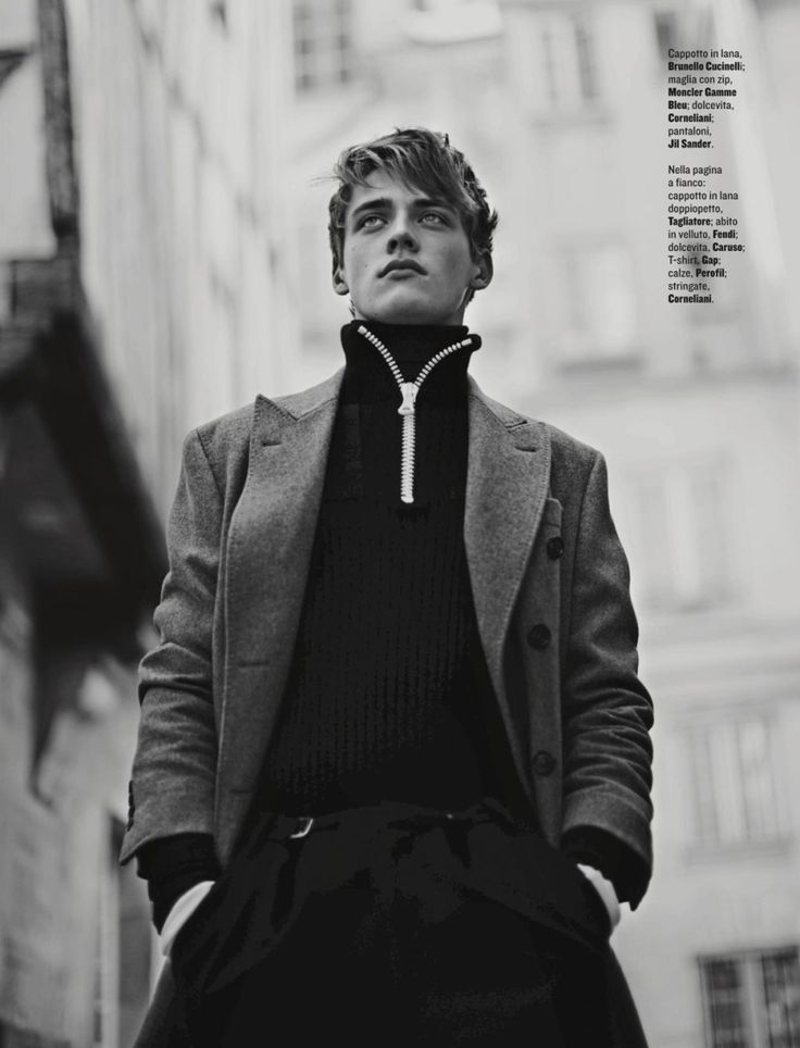 Billy Vandendooren brings a boyish charm to the pages of Style for the magazine's October 2015 issue. The model is photographed by Fanny Latour-Lambert for a new editorial featuring the style work of Luca Roscini. Offering a chic take on fall, texture and tailored fits work together with standout pieces such as Fendi's take on... [Read More]