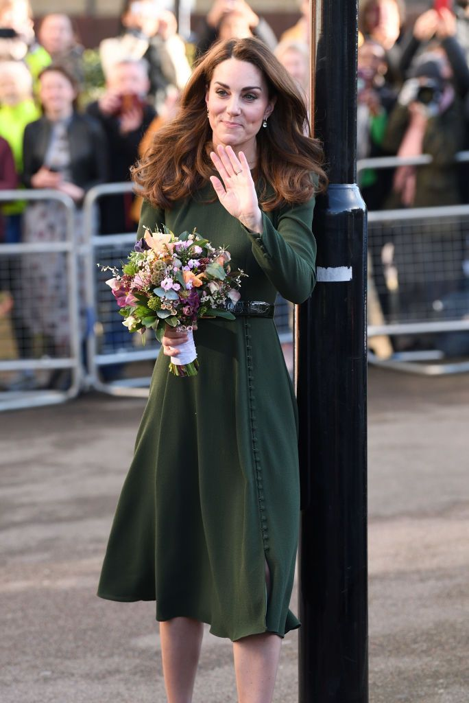 Catherine Duchess Of Cambridge Visits The Family Action Charity