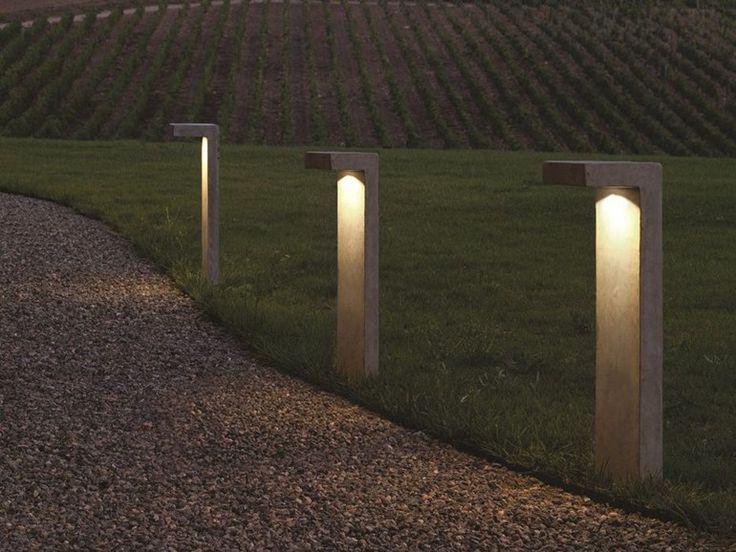 led bollard light pastorale luciferos led floor lamp - Bollard Lights
