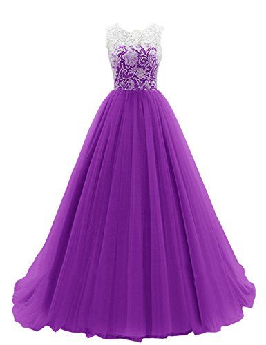 Dresstells Women's Long Tulle Ball Gowns Wedding Dress Evening Formal Party Maxi Dress Purple Size 14 Dresstells http://www.amazon.co.uk/dp/B00R7J1KN8/ref=cm_sw_r_pi_dp_CilMwb0Q2S459