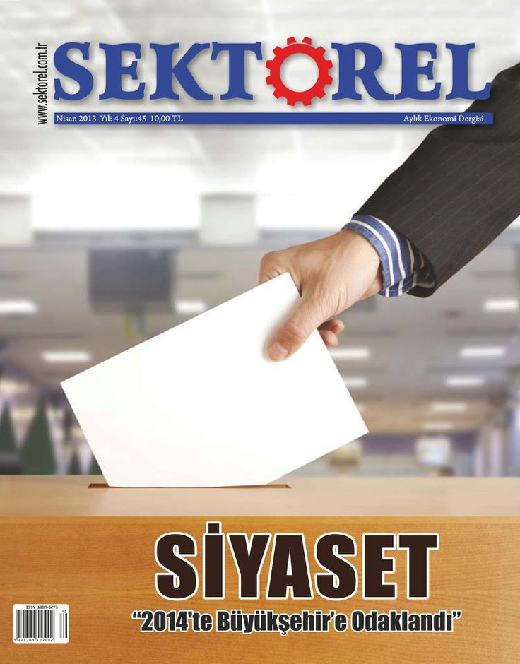 Sektörel Dergisi, Nisan sayısı yayında! Hemen okumak için: http://www.dijimecmua.com/sektorel/