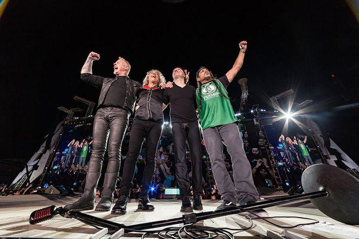 Mexico City, Mexico - March 3, 2017 - Metallica