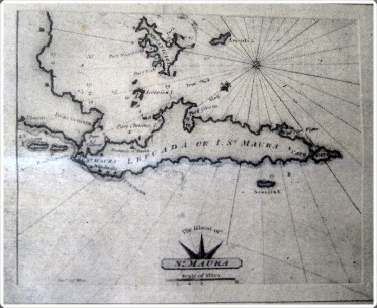 1765. Η Άγια Μαύρα 351 χρόνια πριν.