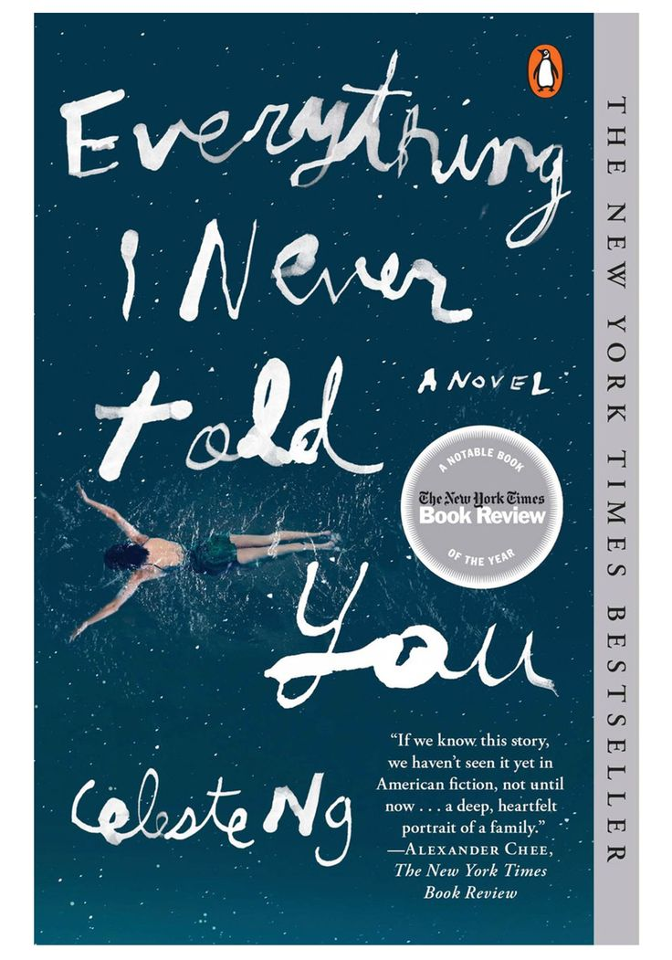 "The opening sentence of Celeste Ng's cleverly crafted, emotionally perceptive debut, Everything I Never Told You, is characteristically unsparing: ""Lydia is dead."" This stone-cold fact creates immediate tension, not least because Lydia's parents, James and Marilyn Lee, and siblings, Nath and Hannah, don't yet know. #paperbacks"