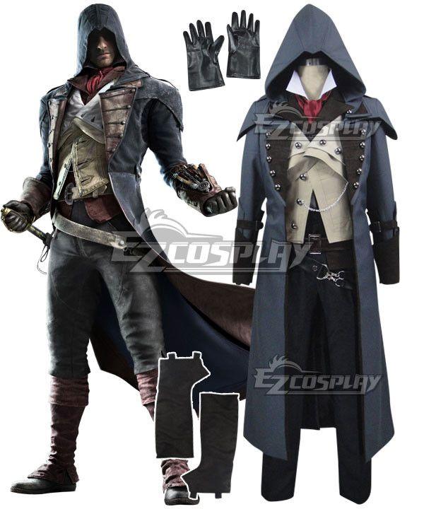 Brand New Assassin/'s Creed Arnaud Adult Costume