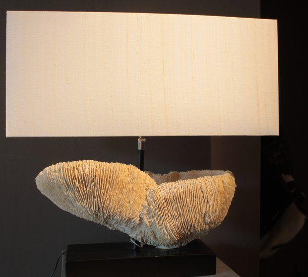 Koraal lamp