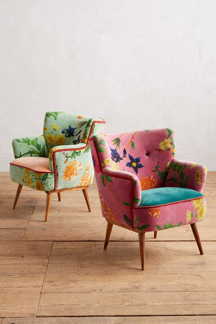 Floret Occasional Chair In 2019 Accent Chairs Vintage