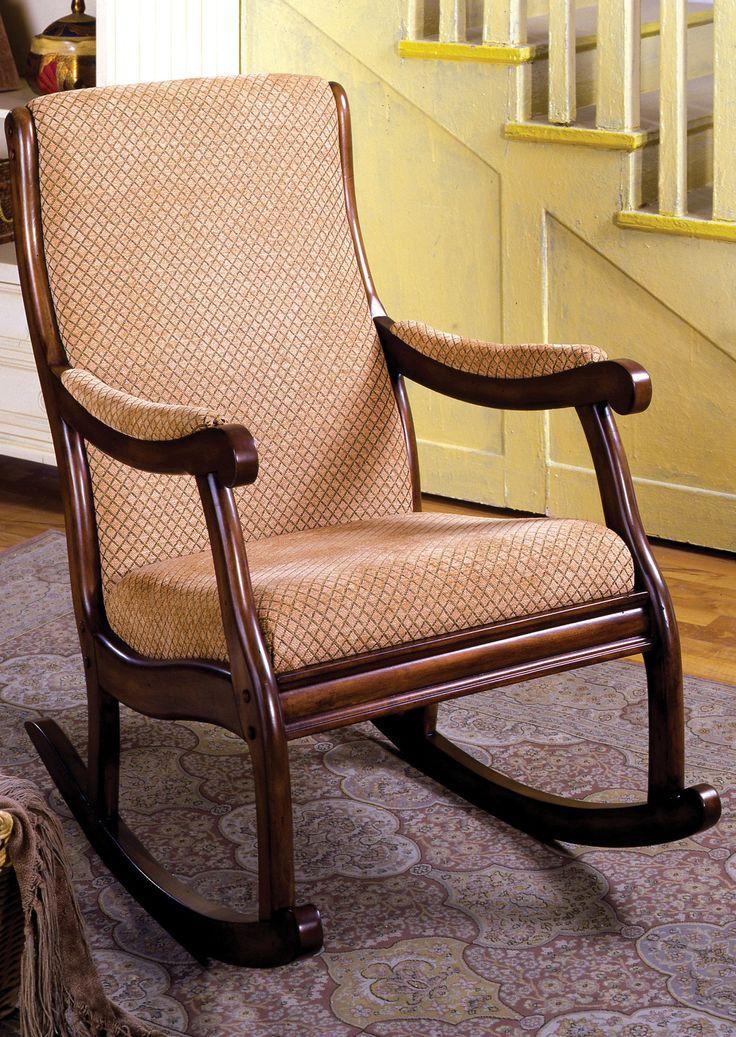 Umbrah Transitional Rocking Chair