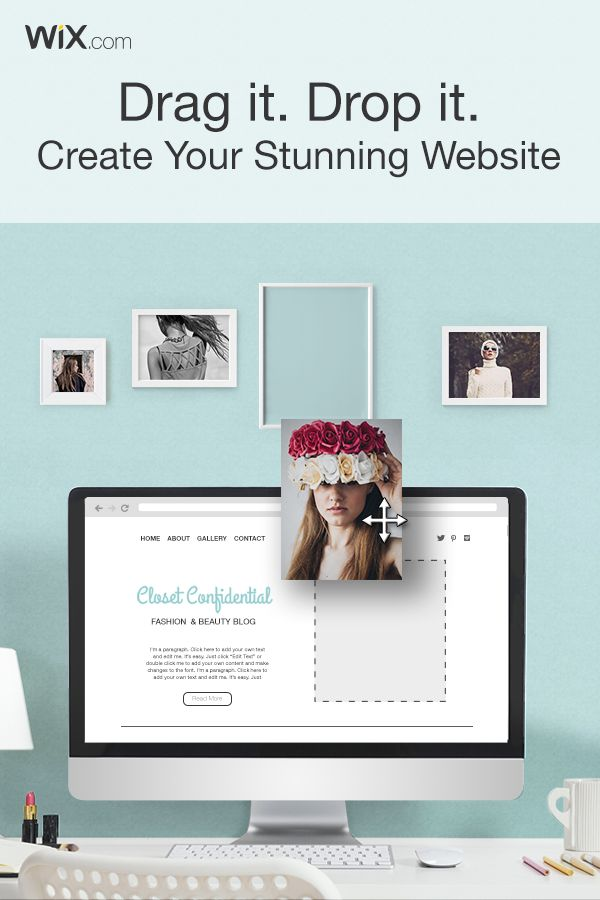 Need a Website? Why Not Do It Yourself! Create your own stunning website today with Wix.
