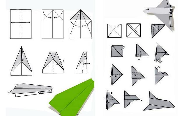 paper plane designs, fun fathers day ideas